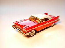 "Plymouth Fury hard top Coupe 1958 ""Christine"", nn à la main handmade dans 1:43!"