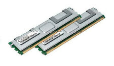 2x 2gb 4gb RAM para servidores Dell PowerEdge 2900 2950 m600 667mhz fully Buffered