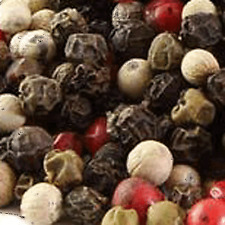 1oz Rainbow Peppercorns, four color mixed whole pepper green, black, pink, white