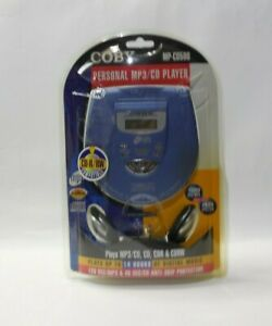 MP-CD500 COBY Portable CD Player w/ Headphones Personal MP3/CD Player CDR CDRW