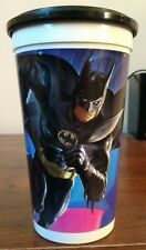 Batman Returns Batman McDonald's Cup & Black Frisbee Disc Lid Coca Cola 1992