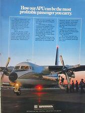 6/1982 PUB TURBOMACH SAN DIEGO TITAN II GEMINI APU SYSTEM AIRCRAFT ORIGINAL AD