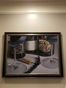 """Thomas Arvid """"O What A Night"""" signed and framed"""