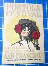 Cinderella/Poster Stamp - 1909 Usa Portola Festival San Francisco Imperf 875