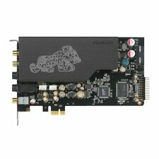 AsusTek sound card PCI-E 7.1ch output card included Essence STX II 7.1