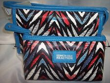 COSMETIC BAGS, KENNETH COLE REACTION 2PC EAST/WEST COSMETIC BAGS  Ladies Wallets