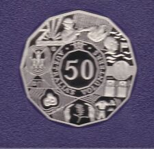 2003 Volunteers Australia 50 Fifty Cent PROOF Coin ex Proof Set