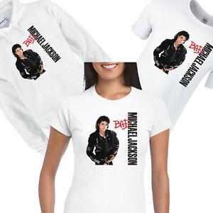 MICHAEL JACKSON BAD Tshirt Hoodies Top Tee Mens Ladies kids unisex Neverland