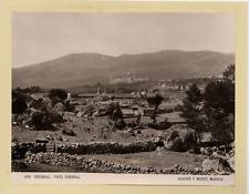 Hauser y Menet, Espagne, Escorial, vista general vintage print Photomécanique