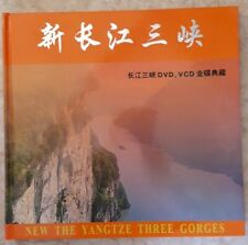 CHINE Livre The Yangtze Tree Gorges + 5 DVD + timbres