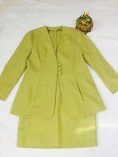 **Lieblingskostüm** Kostüm grün Jacke Gr. 42 - Rock Gr. 40 - neuwertig