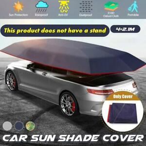 Automatic Outdoor Car Tent Umbrella Sunshade Roof Cover UV Protection Foldable