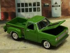 1977 77 DODGE D-150 R/T Hot Rod Step-Side Pick-Up Truck 1/64 Scale Lim Ed Q22