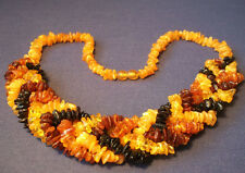 Genuine Baltic Amber Necklaces Mixed Color 52.0 - 55.0 cm