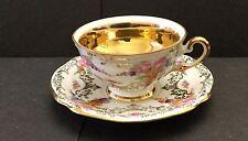 "Hutschenreuther Arzberg Bavaria Porcelaine Fine ""Ingeborg"" Design Tasse & Soucoupe"