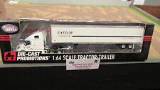 DCP#32063 TAYLOR LINES VOLVO SEMI CAB TRUCK & 53' DRY VAN TRAILER 1:64/ FC