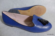 New VINCE CAMUTO Soft Blue Leather Tassel Toe Ballet Flats BETSEY 6M/36