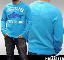 HOLLISTER SWEAT SHIRT Blue PREY For Surf Large