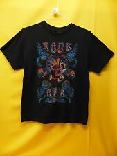 """Hippie Style T-Shirt """"Rock Era 1969"""" Groovy Music Collectible Tee (Size 18)"""