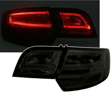 ORIGINAL LED LUCES TRASERAS barra de luces negro fumar SET para AUDI A3 8p