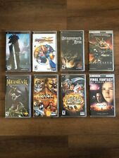 PSP Lot Of 8 Games & UMD Movies RPG ALL COMPLETE CIB FAST SHIPPING