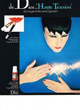 PUBLICITE  1976     DIOR  cosmétiques