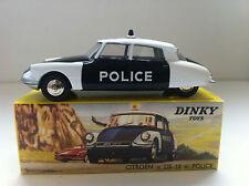 Dinky Toys (Code 3) - Citroën DS Police sur base DTF 24C (1/43)