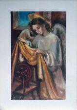 1950 Sacra Angelo -dis.Adelina Zandrino ediz.Arti Grafiche Alinari Baglioni