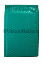 100 #5 ( Green ) Poly Bubble Mailers Envelopes Bags 10.5x16  Colors Stand Out