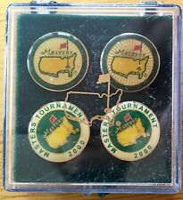MASTERS GOLF STEM BALL MARKERS 4 PACK 2000 NEW