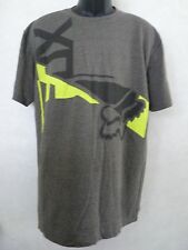 New Fox Racing Men Archfiend Heather Dark Fatigue Tee T Shirt Large #21-23