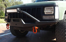 FRONT WINCH STEEL CUSTOM BUMPER JEEP CHEROKEE XJ MJ