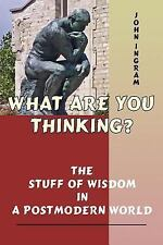 What Are You Thinking? : The Stuff of Wisdom in a Postmodern World by John R....