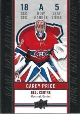 Carey Price #GDA-5 - 2018-19 Tim Hortons - Game Day Action