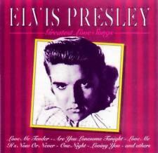 ELVIS PRESLEY - GREATEST LOVE SONGS (CD de IMPORTACION)