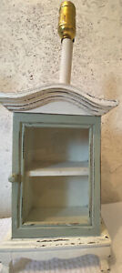 home decor lamp shabby chic cabinet