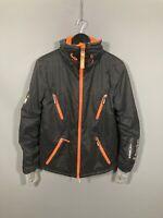 SUPERDRY GLACIER Coat - Size Small - Black - Great Condition - Men's