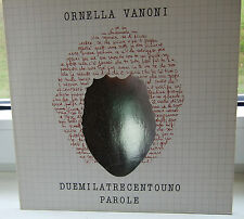 Ornella Vanoni - VINYL LP DUEMILATRECENTOUNO PAROLE mit Designercover
