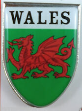 Fridge Magnet - WALES Red Dragon Shield Fridge Magnet - Great Gift, Souvenirs