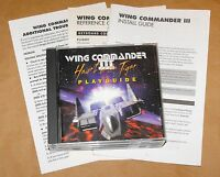 Vintage Wing Commander III: Heart of the Tiger ( PC, 1994) With Booklet ~ RARE