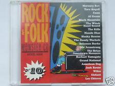 ROCK & FOLK  MONSTER CD  VOL.10, 20 TITRES, TRES BON ETAT