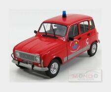 Renault R4 Gtl Pompiers Service Departemental Du Var 1986 SOLIDO 1:18 SL1800106