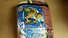 BRAND NEW OFFICIAL NICKELODEON DIEGO TWIN SIZE ACRYLIC 60X80 BLANKET
