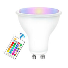 5W 16 Color Changing Warm RGB LED Light GU10 Dimmable Bulbs Lamp RC Remote Spot