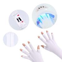 Nail Art Anti UV Handschuh Waschbar UV Licht Lampe Strahlungsschutz Werkzeug
