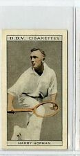 (Gs541-JB) Phillips BDV, Whos Who in Aust Sport, Hopman / Bunton 1933 EX