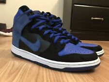 factory price 1743b bffe5 NIKE DUNK HIGH PRO SB JORDAN J-PACK BLACK GAME ROYAL BLUE WHITE 305050-