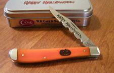 CASE XX New Halloween Persimmon Bone 1 Blade Slim Line Trapper Knife/Knives