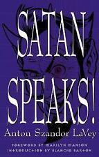 Satan Speaks!: By LaVey, Anton Szandor