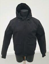 """Primark Mens Black Padded Hood Coat Zip Up Front 38-40"""""""